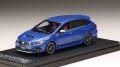 予約品 2019.年4月以降 ミニカー MARK43 レジンモデル 1/43 PM43114BL スバルレヴォーグSTI スポーツアイサイト(D型) WRブルーパール 4981932049830