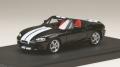 お取り寄せ予約品 12月以降 ミニカー MARK43 レジンモデル 1/43 PM4325SBK マツダ ロードスター (NB8C) RS 2 (2000) ストライプデカール ブリリアントブラック 4981932046853