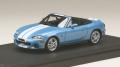 お取り寄せ予約品 12月以降 ミニカー MARK43 レジンモデル 1/43 PM4325SBL マツダ ロードスター (NB8C) RS 2 (2000) ストライプデカール クリスタルブルーメタリック 4981932046884