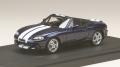 お取り寄せ予約品 12月以降 ミニカー MARK43 レジンモデル 1/43 PM4325SDB マツダ ロードスター (NB8C) RS 2 (2000) ストライプデカール サプリームブルー マイカ 4981932046877