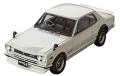 ミニカー MARK43 レジンモデル 1/43 PM4335SW ニッサン スカイラインGT-R (KPGC10) スポーツホイール ホワイト 4981932043203