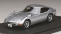 お取り寄せ品 ミニカー MARK43 レジンモデル 1/43 PM4363S トヨタ 2000GT (MF10) 後期型 シルバー 4981932045795