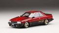 お取り寄せ予約品 2019.年2月以降 ミニカー MARK43 レジンモデル 1/43 PM4380CRK ニッサンスカイラインハードトップ RS-TURBO (KDR30)カスタムバージョン レッド/ブラック 4981932049724