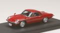 お取り寄せ品 ミニカー MARK43 レジンモデル 1/43 PM4381R マツダ コスモスポーツ (L10B) 1967 レッド 4981932046631