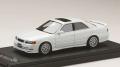 お取り寄せ品 ミニカー MARK43 レジンモデル 1/43 PM4382SW トヨタ チェイサー ツアラー V (JZX100)後期型 スポーツホイール スーパーホワイト2 4981932047874