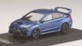 お取り寄せ予約品 8月以降頃 ミニカー MARK43 レジンモデル 1/43 PM4390BL スバル WRX STI Type S (VAB) 2017 WR ブルーパール 4981932048543