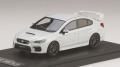 お取り寄せ予約品 8月以降頃 ミニカー MARK43 レジンモデル 1/43 PM4390W スバル WRX STI Type S (VAB) 2017 クリスタルホワイトパール 4981932048536