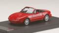 予約品 9月以降順次 ミニカー MARK43 レジンモデル 1/43 PM4398R ユーノス ロードスター (NA6C) 1989  クラシックレッド 4981932048598
