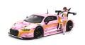 予約品 2021年1月頃 ミニカー POP RACE 1/64 853685 アウディ Audi R8 LMS エヴァ RT 正規実用型(ヴィレカスタム) 8号機 X Works 真希波・マリ フィギュア セット 4562129853685