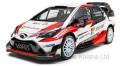 お取り寄せ品 順次取寄せ ミニカー イクソモデル ixo 1/43 RAM647 トヨタ ヤリス WRC 2017年ラリー・モンテカルロ #10 J-M. Latvala - M. Anttila