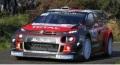 お取り寄せ予約品 9月頃 ミニカー IXO(イクソ) 1/43 RAM672 シトロエン C3 WRC 2018年ツール・ド・コルス #11 S.Loeb / D.Elena