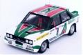 ミニカー Trofeu(トロフュー) 1/43 RRca01 フィアット 131 アバルト 1977年クリテリアム・ドゥ・ケベック 1位 #8 Timo Salonen Jaakko Markkula 5601673591717