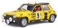 予約品 8月以降 ミニカー SOLIDO (ソリド) ダイキャストモデル 1/18 S1801311 ルノー 5 ターボ モンテカルロ ラリー 1982 #9 (イエロー) 4548565408399