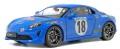 予約品 2020年3月頃 ミニカー SOLIDO(ソリド) ダイキャストモデル(開閉機構付) 1/18 S1801603 アルピーヌ A110 モンテカルロラリー ヒストリック (ブルー/#18) 4548565381937