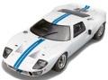 お取り寄せ品 順次取寄せ ミニカー SOLIDO (ソリド) ダイキャストモデル 1/18 S1803002 フォード GT40 Mk.1 ワイドボディ (ホワイト/ブルーストライプ) 4548565379972