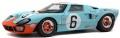 お取り寄せ予約品 2021年3月頃 ミニカー SOLIDO (ソリド) ダイキャストモデル 1/18 S1803003 フォード GT40 Mk1 ル・マン ウィナー 1969 (ガルフ) 4548565400140