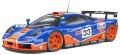 お取り寄せ予約品 2021年3月頃 ミニカー SOLIDO (ソリド) ダイキャストモデル 1/18 S1804101 マクラーレン F1 GTR ル・マン 24h 1996 (ガルフ) 4548565400126