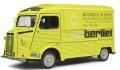 お取り寄せ予約品 8月以降 ミニカー SOLIDO (ソリド) ダイキャストモデル 1/18 S1804814 シトロエン タイプ HY ベルリエ サービス 1969 (イエロー) 4548565408412