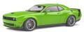 予約品 8月以降 ミニカー SOLIDO (ソリド) ダイキャストモデル 1/18 S1805704 ダッジ チャレンジャー R/T スキャットパック ワイドボディ (グリーン) 4548565408436