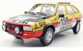 お取り寄せ予約品 5月頃 ミニカー TOPMARQUES  レジンモデル(開閉機構なし)  1/18 TMPD04B ルノー 20 タ−ボ  No,150 1982 パリ ダカール 優勝