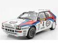 予約品 12月頃 ミニカー TOPMARQUES レジンモデル(開閉機構なし) 1/12 TMR12-01AN ランチャ デルタ HF インテグラーレ Evo No4 1992 モンテカルロ 優勝 ナイトバージョン