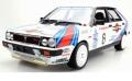お取り寄せ予約品 6月頃 ミニカー TOPMARQUES  レジンモデル(開閉機構なし)  1/12 TMR12-06A ランチャデルタ 4WD No,6 モンテカルロ 優勝 1987