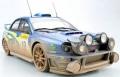 お取り寄せ予約品 8月頃 ミニカー TOPMARQUES  レジンモデル(開閉機構なし) 1/18 TOP037CD スバル インプレッサ S7 555 WRC No.10 2002 モンテカルロ ナイトVer(汚し塗装)