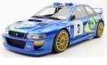 お取り寄せ予約品 5月頃 ミニカー TOPMARQUES  レジンモデル(開閉機構なし)  1/18 TOP040D スバル インプレッサ S4 No,3 ポルトガル 優勝 1998