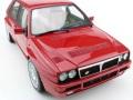 お取り寄せ予約品 2018年1月頃 ミニカー TOPMARQUES レジンモデル 1/12 TOP12-01C ランチャ デルタ インテグラーレ エボリューション(レッド)限定 100台 証明書付