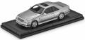 お取り寄せ予約品 2021年2月頃 ミニカー TOPMARQUES  レジンモデル 1/43 TOP43006E AMG メルセデス CL 600 7.0 シルバー レザー調ベース&ケース付 4548565395316