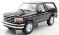 """お取り寄せ予約品 2020年1月頃 ミニカー TOPMARQUES""""Lucky Step"""" レジンモデル(開閉機構なし) 1/18 TOPLS055C フォード ブロンコ 1992 ブラック"""