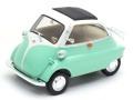 ミニカー WELLY ダイキャストモデル(開閉機構付 )  1/18 WE24096LG BMW イセッタ ライトグリーン 4548565401420