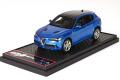 お取り寄せ予約品 9月以降 ミニカー BBR MODELS レジンモデル 1/43 BBRC200B アルファロメオ ステルビオ クアドロフォリオ ブルー