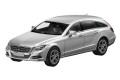 ミニカー ノレブ 1/43 4582342022873 メルセデスベンツ 特注モデル CLS シューティングブレーク 2012 シルバー
