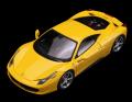 ミニカー True Scale 1/43 10FJ003 フェラーリ 458 イタリア (GIALLO MODENA) イエロー