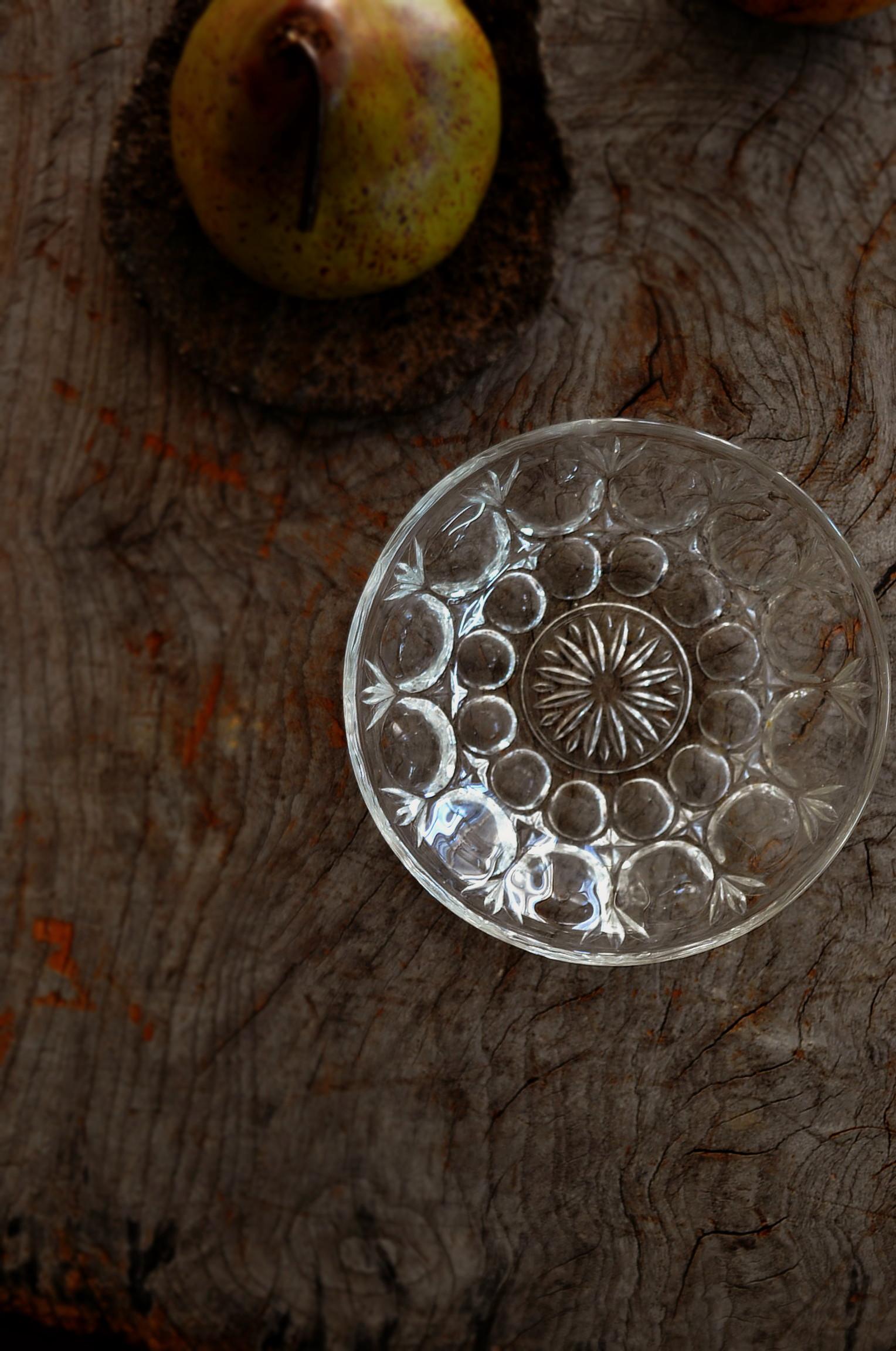プレスガラス ボウル 鉢