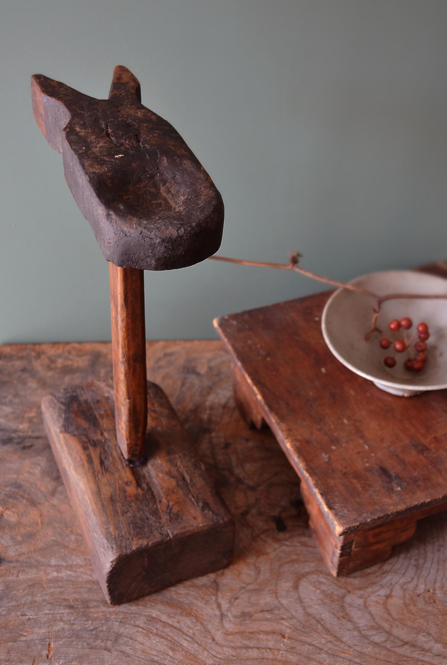 アンティーク燭台 李朝 韓国アンティーク 朝鮮美術