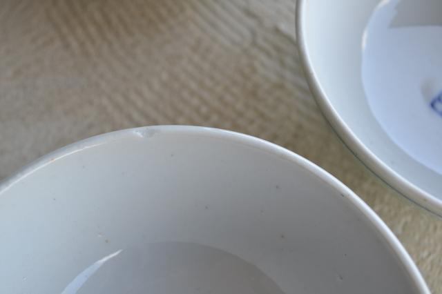 伊万里青磁釉福禄壽紋茶碗 一客
