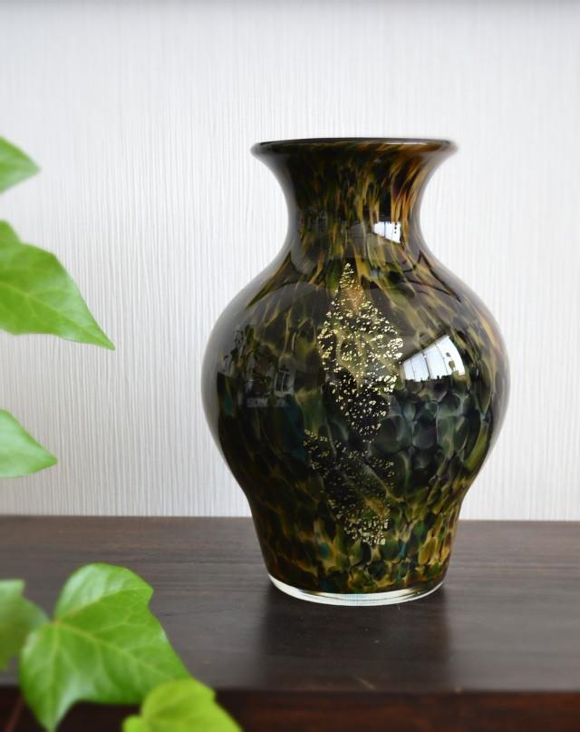 カメイガラス 花器 フラワーベース
