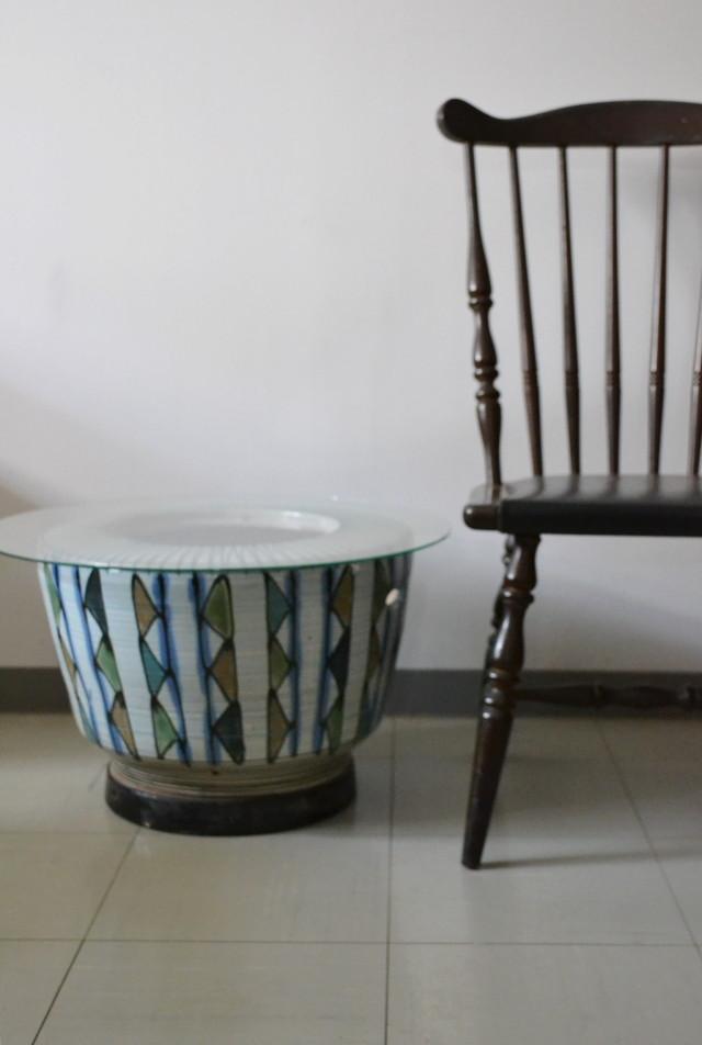レトロ火鉢 鉢カバー