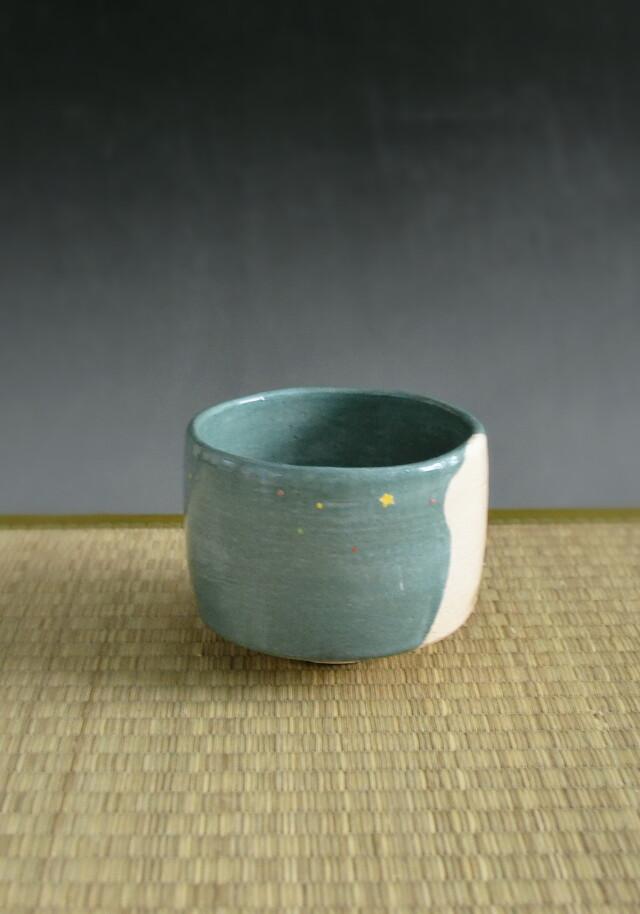 京焼春峰作 楽茶碗