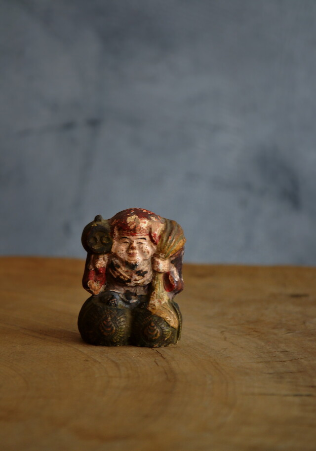 小さな大黒様 土人形