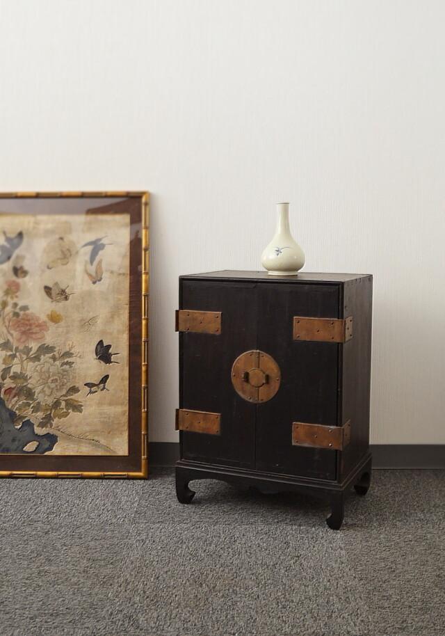 開き引き出し箪笥 韓国アンティーク家具 李朝家具