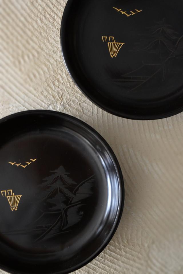 漆皿 直径155mm 菓子皿