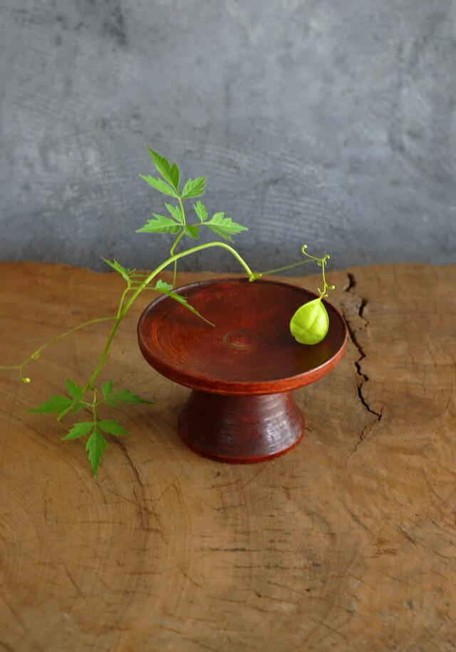 李朝 木台 祭器 高月 菓子皿