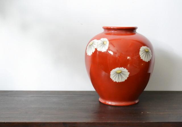 ノリタケ 菊 マーガレット フラワーベース