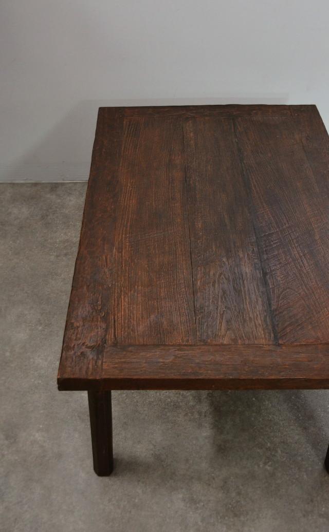 古木のテーブル ローテーブル 高さ435mm