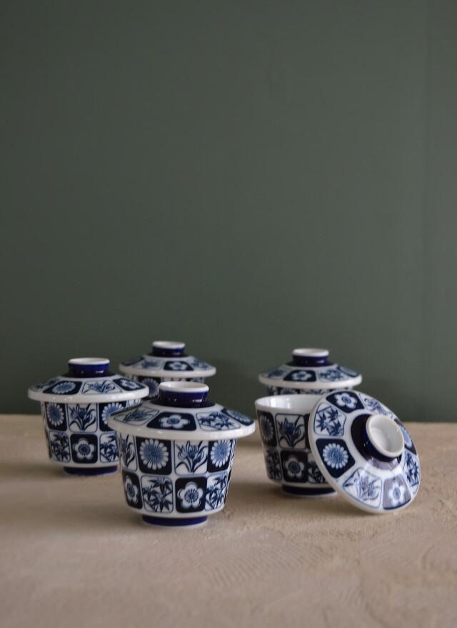 昭和レトロ 蓋付茶碗 茶碗蒸し器