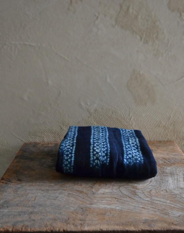アフリカ藍染絞り