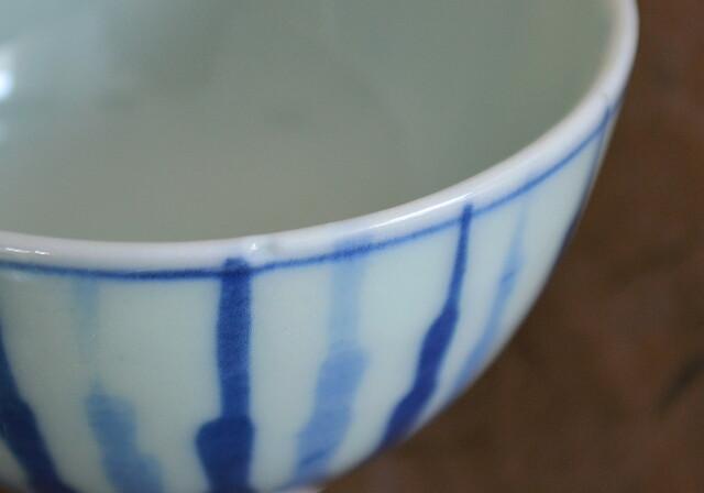 柄違い煎茶茶碗 5個セット
